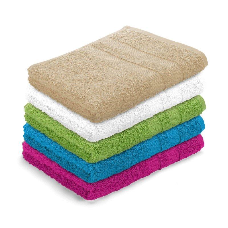 Visokokakovostni bombaž, gosto tkanje in bogati volumen brisač vas bo navdušil.