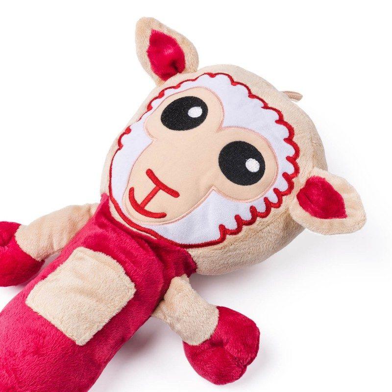 Otroci jo obožujejo! Mehka potovalna blazina, ki je v prvi vrsti odlična zaščita za varnostni pas, hkrati pa tudi ljubka igrača za vašega otroka.