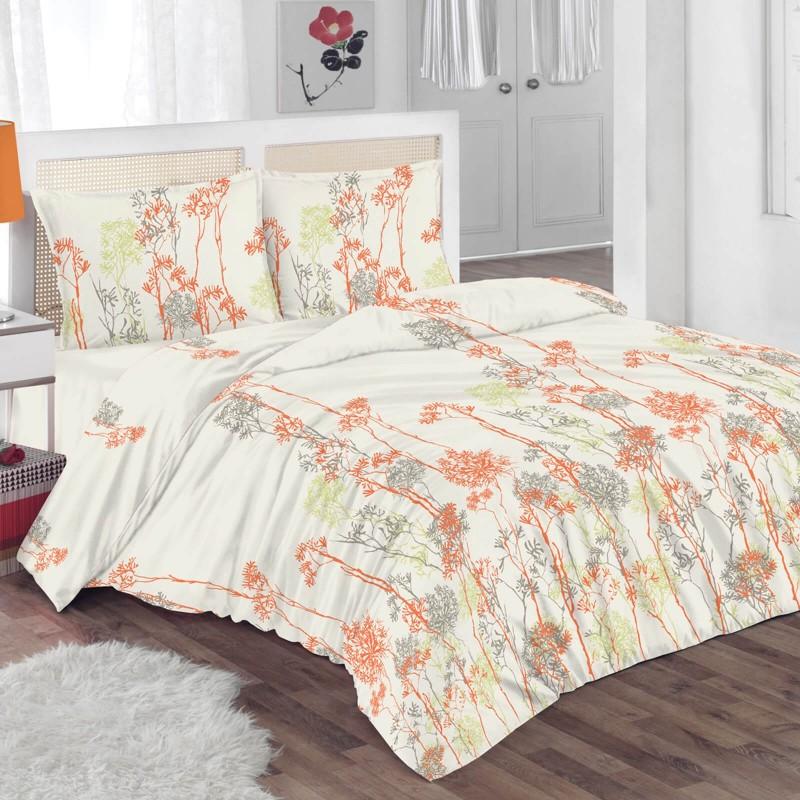 Čas je za popolno razvajanje z moderno bombažno posteljnino! Posteljnina Netty je iz renforce platna, ki velja za lahko, mehko tkanino, preprosto za vzdrževanje. Naj vas očara moderen dizajn s cvetličnim vzorcem. Posteljnina je pralna na 40 °C.