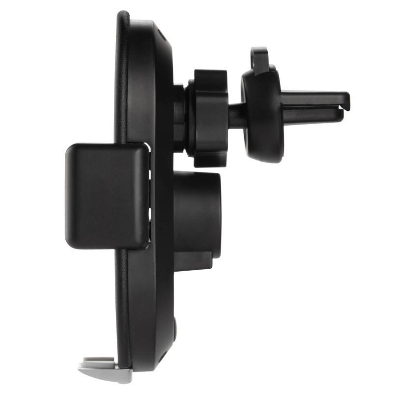 Brezžični avtomobilski polnilec in držalo za telefon SmartTouch set s senzorjem zazna bližino telefona ter samodejno razpre in zapre objemalke po namestitvi telefona. Polnilec podpira najnovejšo brezžično tehnologijo Qi, ki omogoča do 20% hitrejše polnjenje. Namestite ga lahko na aramaturno ploščo, vetrobransko steklo ali ventilacijsko režo. Držalo je mogoče zavrteti za 360 stopinj, s čimer je omogočen vertikalen in horizontalen pogled na telefon. Vaši napravi nudi popolno stabilnost, tudi po razgibanem terenu, ob zaviranju in ležečih policajih.