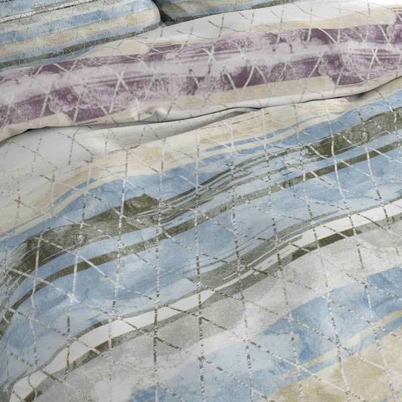 Čas je za popolno razvajanje z moderno bombažno posteljnino! Posteljnina Aquarelle je iz renforce platna, ki velja za lahko, mehko tkanino, preprosto za vzdrževanje. Naj vas očara moderen dizajn s potiskom. Posteljnina je pralna na 40 °C.