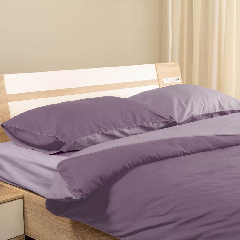 Čas je za popolno razvajanje z moderno bombažno posteljnino! Posteljnina Dusky Orchid je iz renforce platna, ki velja za lahko, mehko tkanino, preprosto za vzdrževanje. Možnost uporabe na obeh straneh. Posteljnina je pralna na 40 °C.