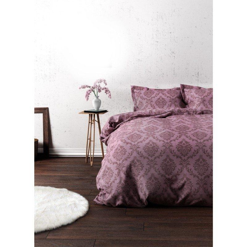 Čas je za popolno razvajanje z moderno bombažno posteljnino! Posteljnina Pure je iz mehkega bombažnega satena, ki je stkan iz visokokakovostne, tanke preje. Posteljnina iz satena je tako čudovit okras vaše spalnice in hkrati odlična izbira za udoben in prijeten spanec. Naj vas očara moderen dizajn z vzorčastim potiskom. Posteljnina je pralna na 40 °C.