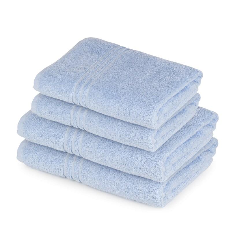 Doživite razkošno udobje v svoji kopalnici! Set kakovostnih brisač Orkus E iz bombažnega frotirja je trpežen, mehek, vpojen in se hitro suši. Klasične enobarvne brisače v dveh dimenzijah: 50x100 cm in 65x140 cm. Brisače so pralne na 95 °C.