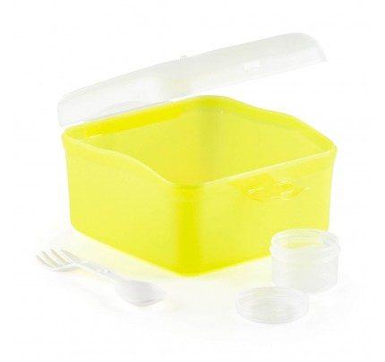Prenosna posoda za solato Rosmarino - rumena
