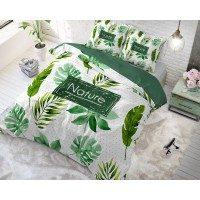 Pamučna posteljina Vitapur Family Jungle - zelena