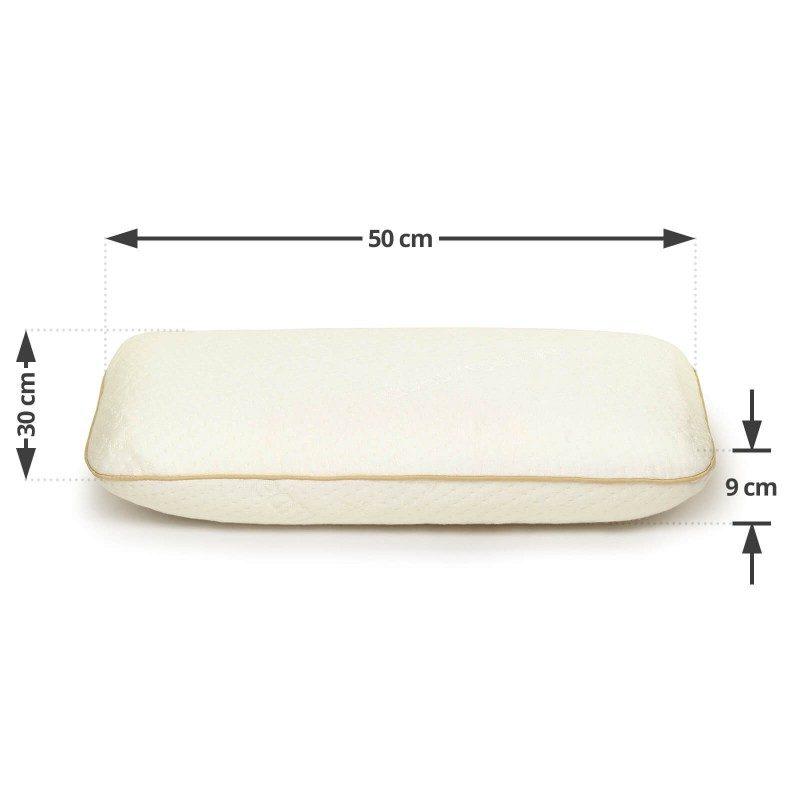 Dječji jastuk MemoDream je odličan izbor za djecu, kako u visini tako i u dimenzijama.  Dimenzija: 30x50 cm.