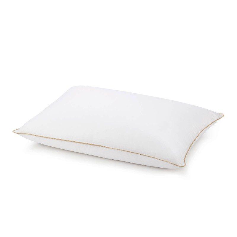 Klasični oblik jastuka za sve položaje spavanja. Punjenje od kombinacije guščjeg paperja i perja, nudi vam najveću količinu udobnosti tijekom spavanja.