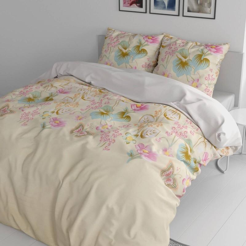 Vrijeme je za potpuno uživanje u modernim pamučnim posteljinama! Posteljina English Garden od renforce platna, mekane tkanine, jednostavne za održavanje.  Posteljina je čudesan je ukras vaše spavaće sobe, a u isto vrijeme odličan izbor za udoban i ugodan san. Posteljina je periva na 40 °C.