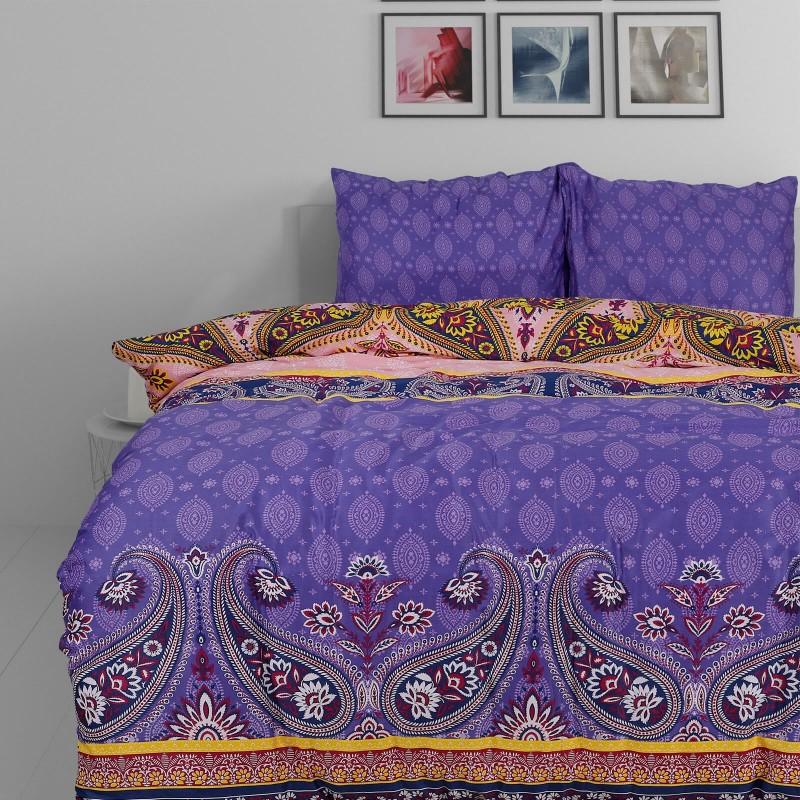 Vrijeme je za potpuno uživanje u modernim pamučnim posteljinama! Posteljina Paisley od mekanog pamučnog satena, koji je satkan od visokokvalitetnog, tankog tkanja. Posteljina od satena je prekrasan ukras vaše spavaće sobe, a u isto vrijeme odličan izbor za udoban i ugodan san. Moderan dizajn s ornamentalnim uzorkom. Posteljina je periva na 40 °C.