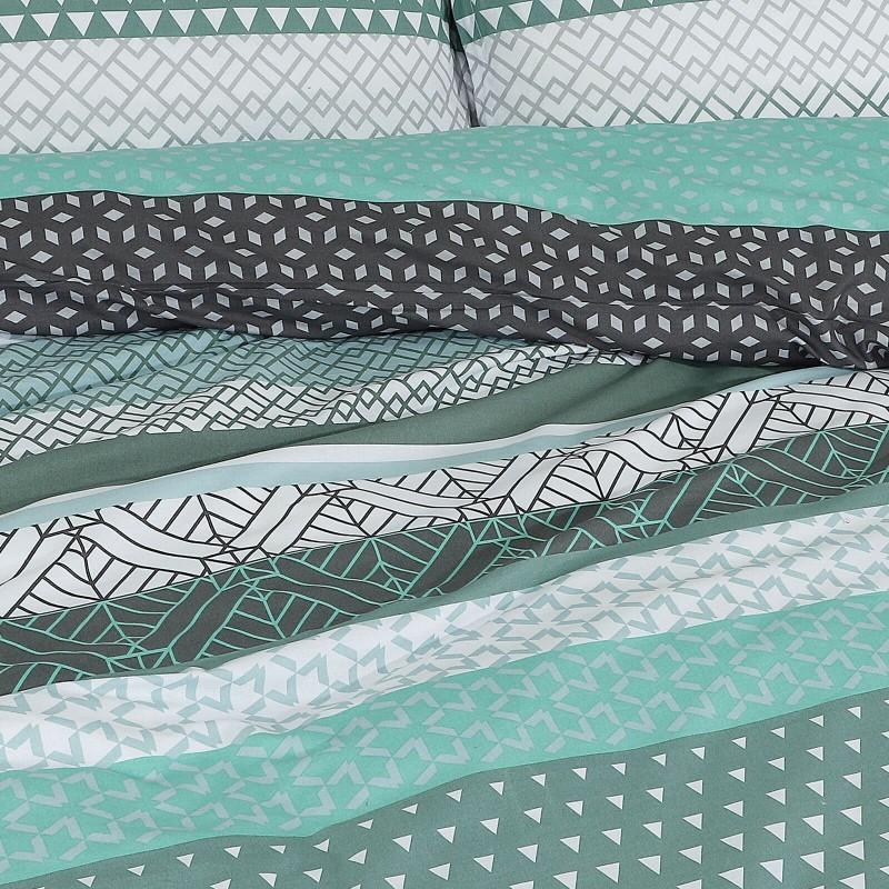 Vrijeme je za potpuno uživanje u modernim pamučnim posteljinama! Posteljina Galina od renforce platna, mekane tkanine, jednostavne za održavanje. Posteljina je savršeni ukras vaše spavaće sobe, a u isto vrijeme odličan izbor za udoban i ugodan san. Posteljina je periva na 40 °C.