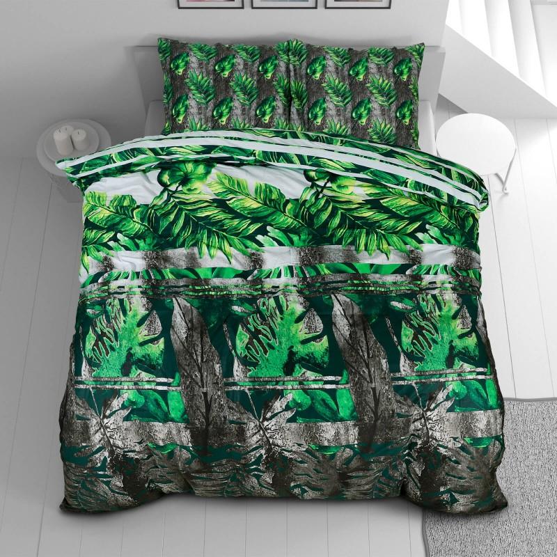 Vrijeme je za potpuno uživanje u modernim pamučnim posteljinama! Posteljina Meadow od mekanog pamučnog satena, koji je satkan od visokokvalitetnog, tankog tkanja. Posteljina od satena je prekrasan ukras vaše spavaće sobe, a u isto vrijeme odličan izbor za udoban i ugodan san. Posteljina je periva na 40 °C.