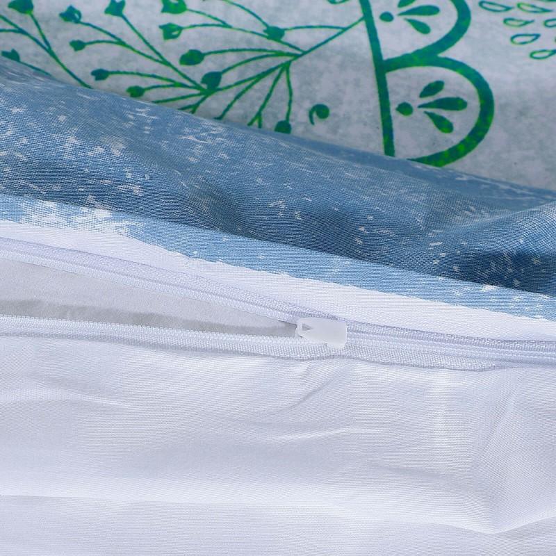 Vrijeme je za potpuno uživanje u modernim pamučnim posteljinama! Posteljina Neysa od mekanog pamučnog satena, koji je satkan od visokokvalitetnog, tankog tkanja. Posteljina od satena je prekrasan ukras vaše spavaće sobe, a u isto vrijeme odličan izbor za udoban i ugodan san. Posteljina je periva na 40 °C.