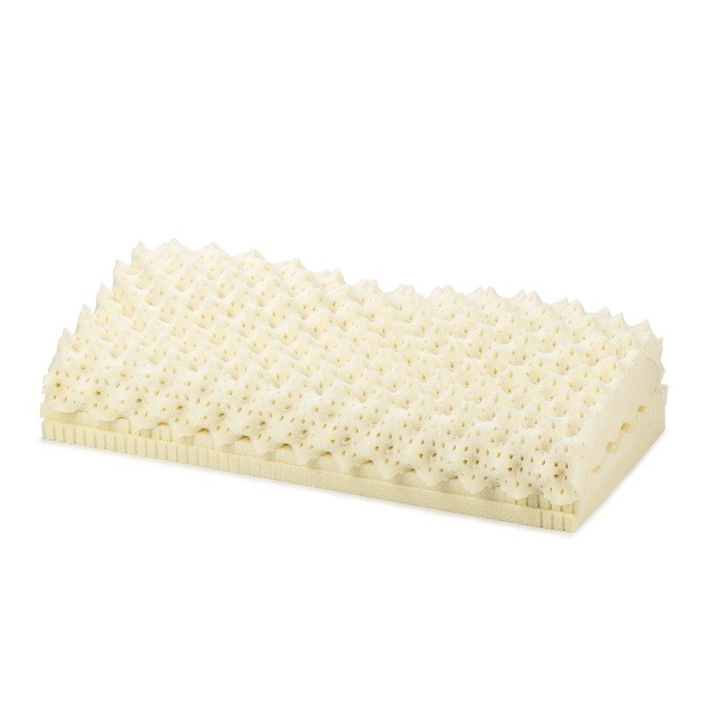 Jedini jastuk od lateksa s kojim možete prilagoditi visinu i nagib. Prilagođava se vratu i glavi za pravilno podupiranje.