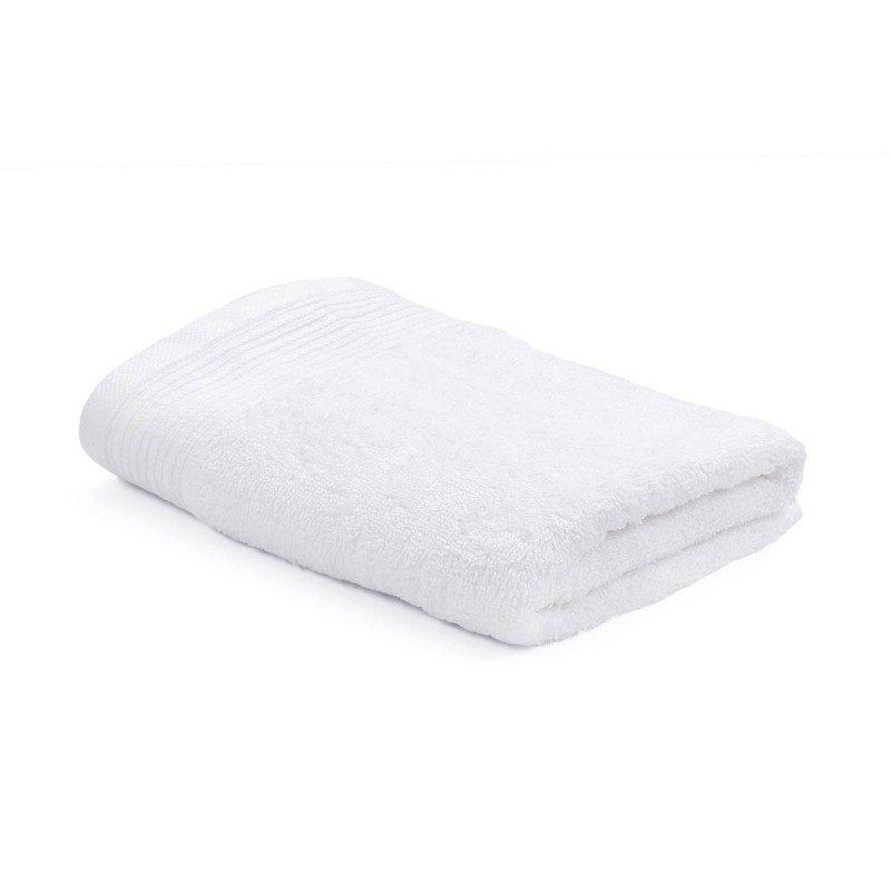 Jednobojan ručnik Svilanit Prima izrađen je od visokokvalitetnog i mekanog pamuka. Gusta pamučna tkanina ugodno prianja na kožu.