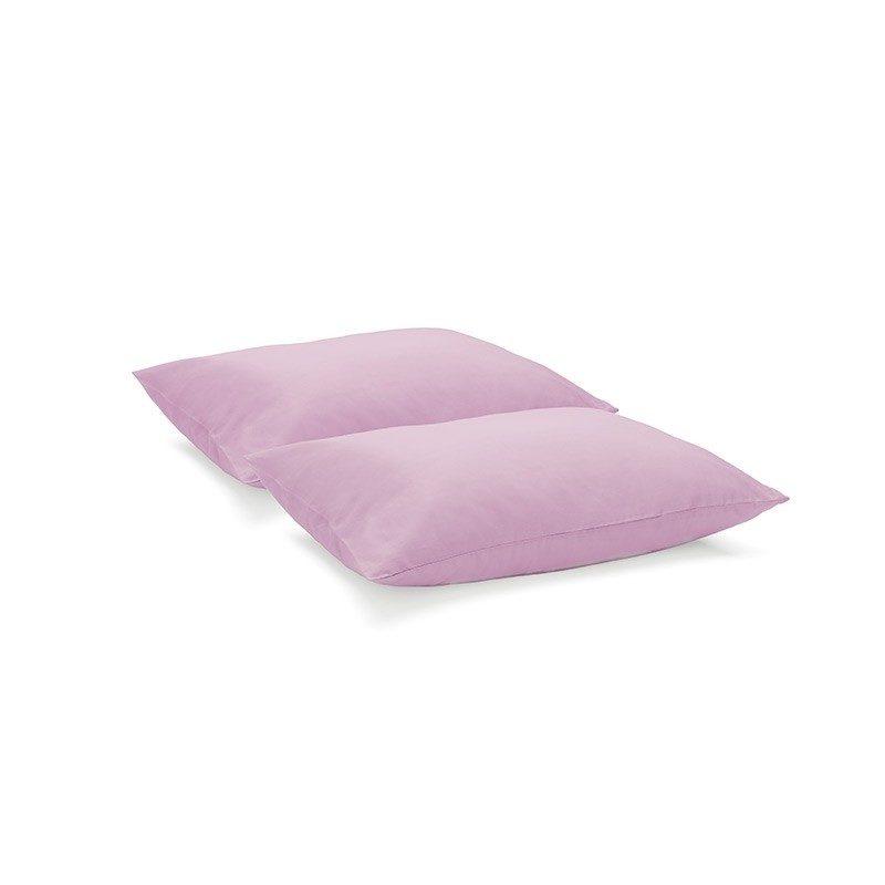 Jastučnice možete jednostavno kombinirati s različitim posteljinama. Izrađene su od kvalitetnog pamučnog satena i dostupne u dvije dimenzije.