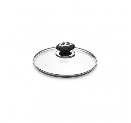Stakleni poklopac Rosmarino Black Lava Stone - 20 cm