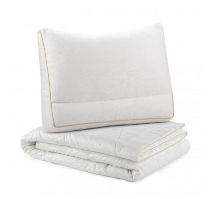 Set svilenog pokrivača i jastuka Vitapur