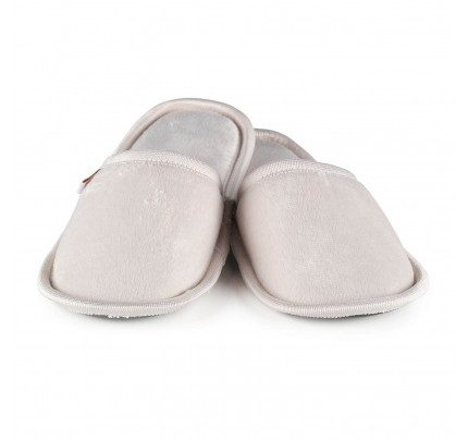 Papuče s mekanim potplatom Vitapur SoftTouch II – bež