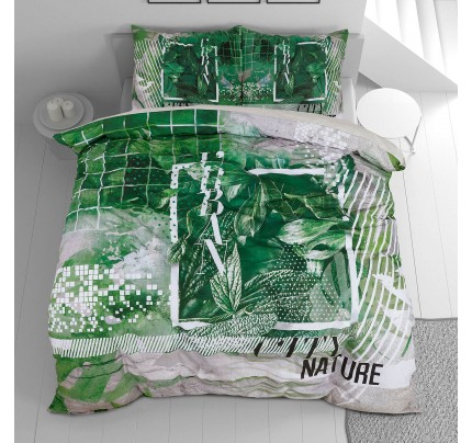 Pamučna posteljina Svilanit Urban Nature