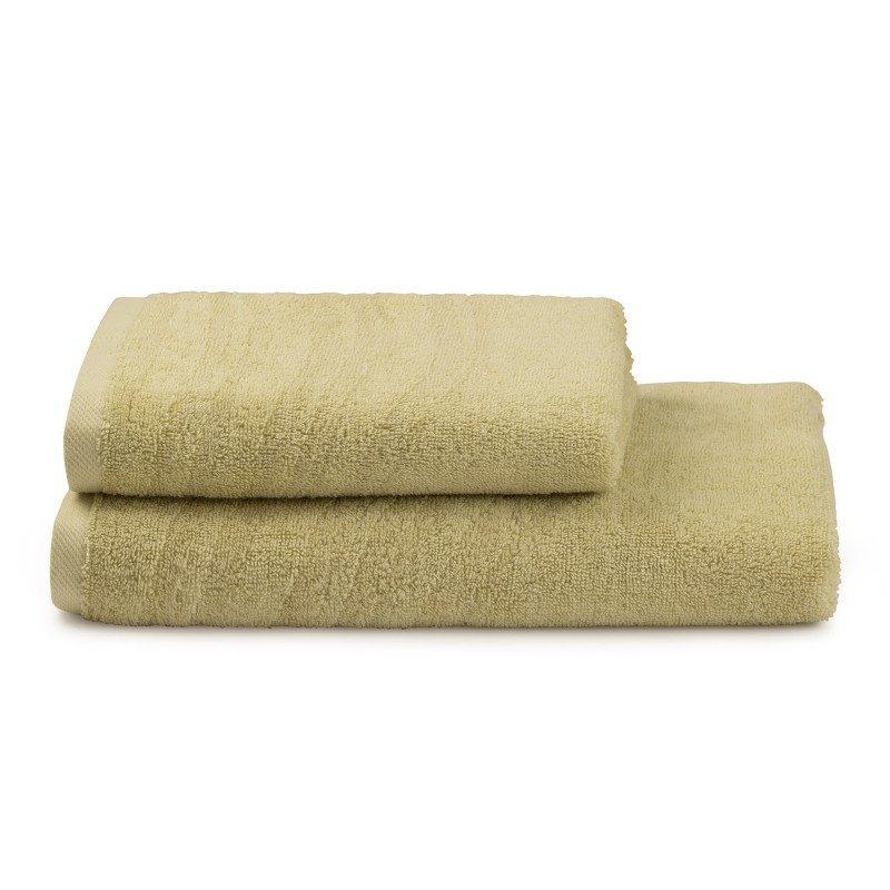 Peškiri su izrađeni od visoko upijajućeg pamuka i bambusovih vlakana. Bambus vlakna imaju još veću moć upijanja i stoga se brže suše. Tkanina u reljefnoj strukturi. Dimenzije: 50 x 100 cm i 70 x 140 cm. Zelena boja.