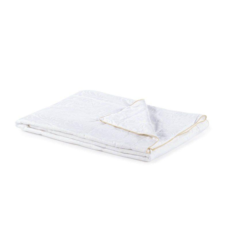 Predstavljamo Vam najprestižniju liniju celogodišnjh pokrivača Victoria's Silk, koji osvajaju svojim prefinjenim izgledom i luksuznom udobnošću. Izuzetnu prilagodljivost svilenih niti karakterišu najbolja mehanička svojstva od svih prirodnih materijala. Što se tiče izbora za kupca, svila zasluženo stoji na prvom mestu po kvalitetu. Dimenzije: 140x200 i 200x200 cm.