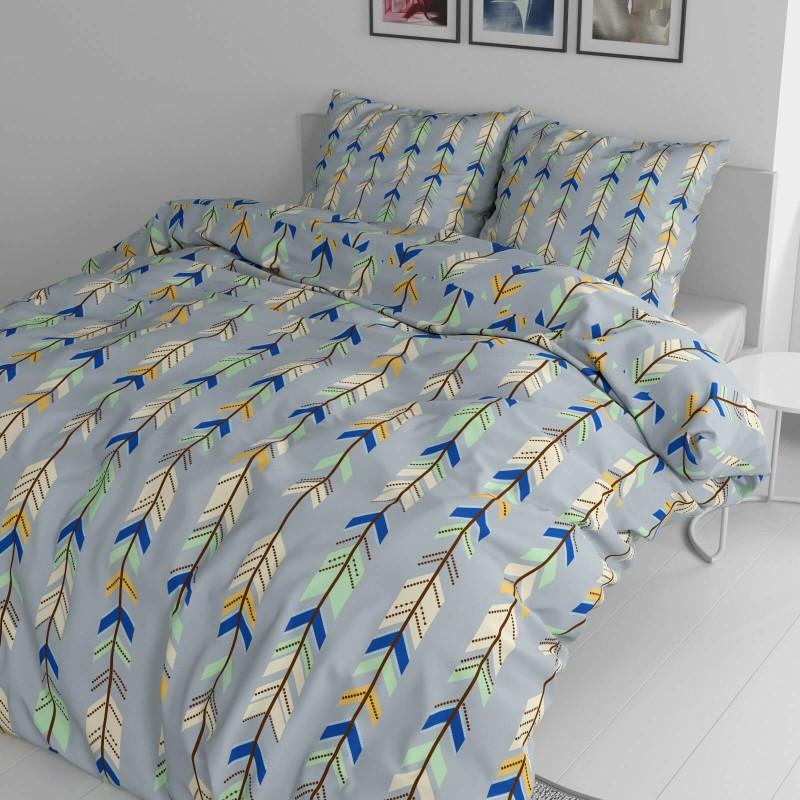 Vreme je za potpuno uživanje u modernim pamučnim posteljinama! Posteljina Arrows napravljena je od renforce platna, koje se smatra mekanom tkaninom i lakom za održavanje. Očaraće vas modernim dizajnom sa motivima strela. Posteljina je periva na 40 °C.