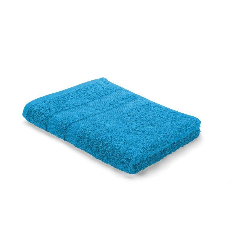 Visokokvalitetan pamuk, gusto tkanje i bogati volumen peškira će vas oduševiti. Plava boja.