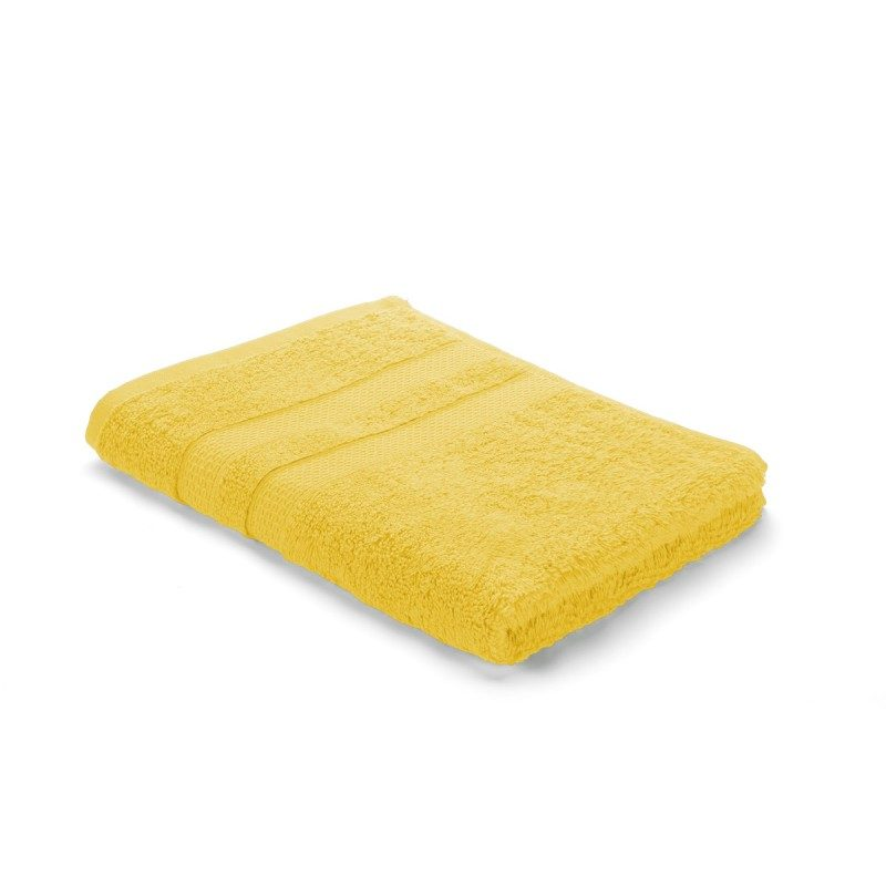 Visokokvalitetan pamuk, gusto tkanje i bogati volumen peškira će vas oduševiti. Žuta boja.