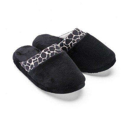 Ženske papuče Vitapur Family SoftTouch HOME - crne