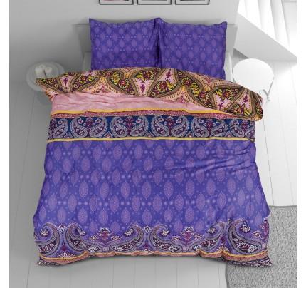 Pamučno-satenska posteljina Svilanit Paisley