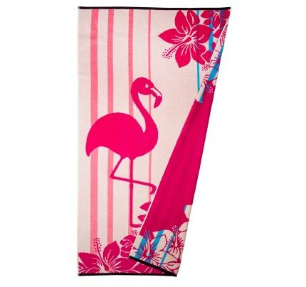 Peškir za plažu Svilanit Flamingo