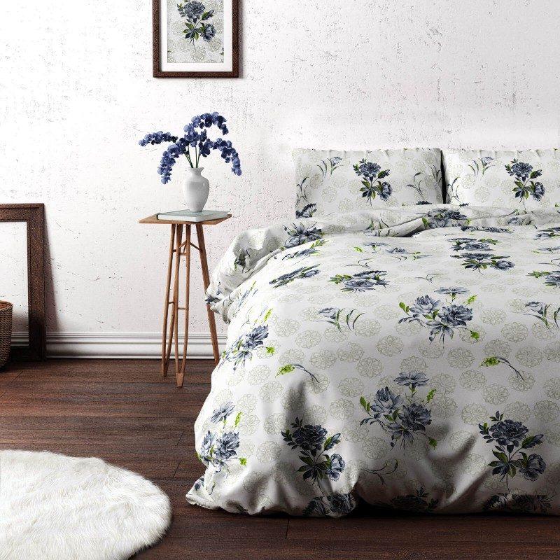 Vrijeme je za potpuno uživanje u modernim pamučnim posteljinama! Posteljina Svilanit Aylin je izrađena od mekog pamučnog satena, od visokokvalitetnog, tankog platna. Posteljina od satena je divna dekoracija vaše spavaće sobe i istovremeno odličan izbor za ugodan i prijatan san. Zabavite se elegantnim dizajnom sa cvijetnim dezenom.