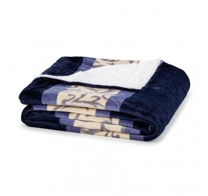 Dekorativni prekrivač Vitapur Beatrice - plavi