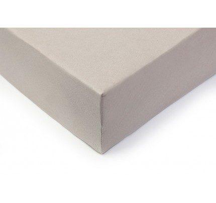 Pamučna plahta sa gumom Vitapur Lyon - siva
