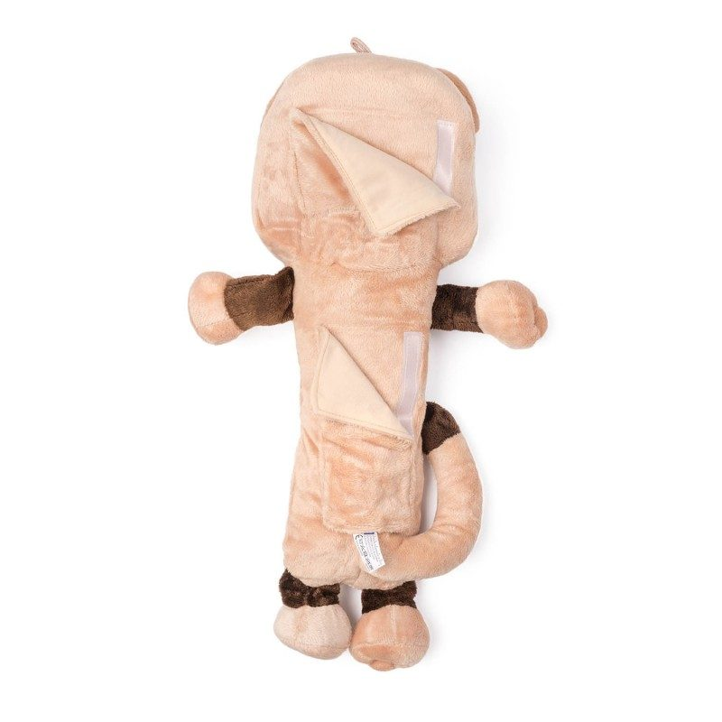 Djeca ga obožavaju! Mekani jastučić za putovanje, koji je prije svega odlična zaštita za sigurnosni pojas, ali i lepa igračka za vaše dijete. Sa motivom lava.