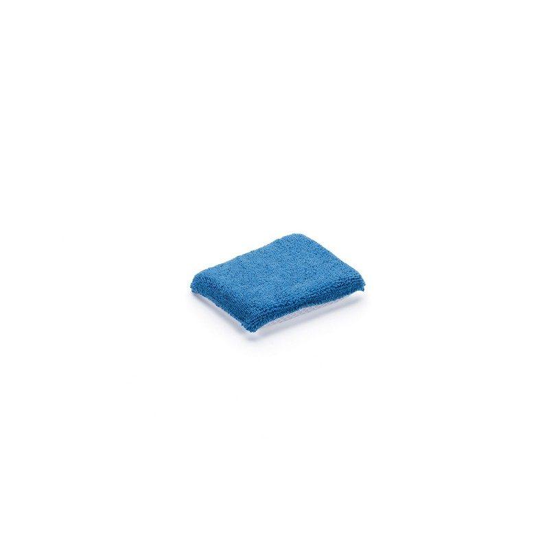 Sunđer za čišćenje Kvikk je vrlo efikasan u čišćenju tvrdokornih mrlja. Ima dvije strane: mekšu strana za nanošenje deterdženta i grubu stranu za skidanje nečistoća. Dimenzije 12,5 x 10 cm.