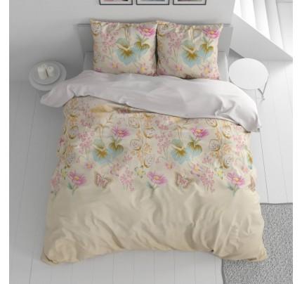 Lenjerie de pat din bumbac Svilanit English Garden