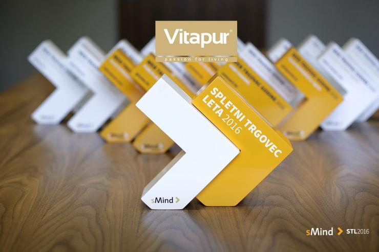 Spletni trgovec leta 2016: Vitapur - dokazano najboljši