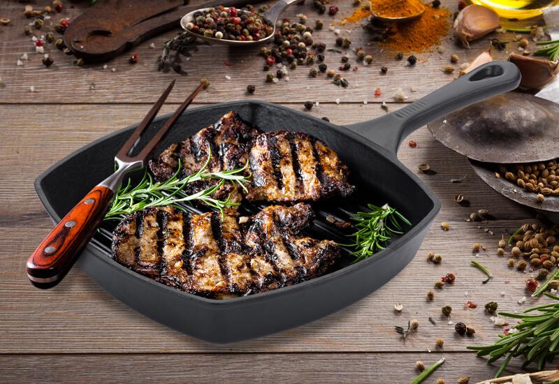 Izbrani kakovostni materiali za hitro kuhanje in enakomerno porazdelitev toplote