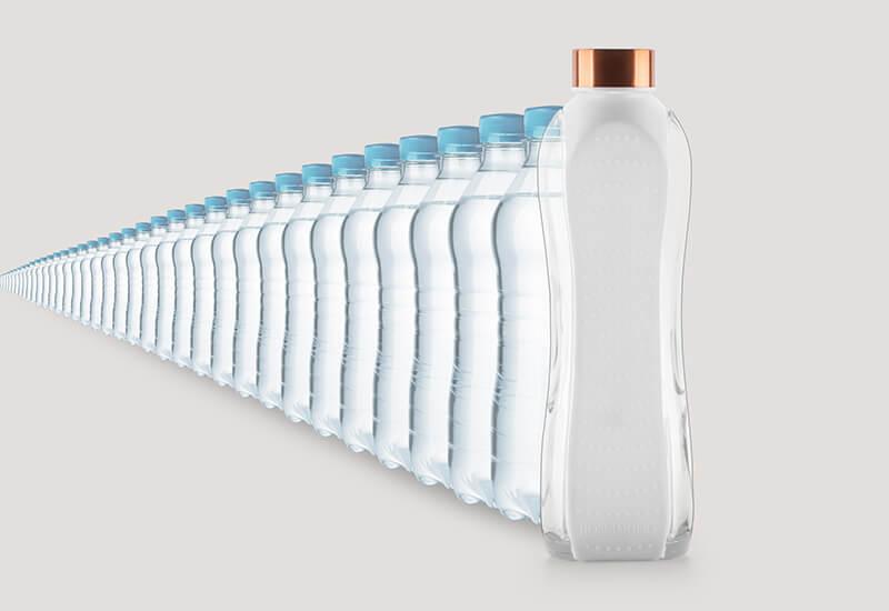 Izdržljiva boca za višekratnu upotrebu