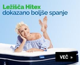 Ležišča Hitex - dokazano boljše spanje